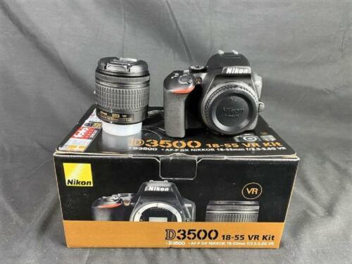 Nikon D3500 Kit 18-55 mm VR, digitale Spiegelreflexkamera, 24,2 Megapixel