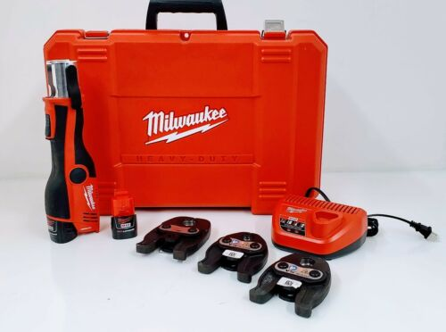 "Milwaukee 2473-22 M12 ForceLogic Press Tool 1/2"" - 1"" Kit"