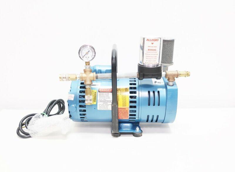 Gast 1023-P152A-G608NEX 3/4hp 3/8in 115/230v-ac Compressor Vacuum Pump