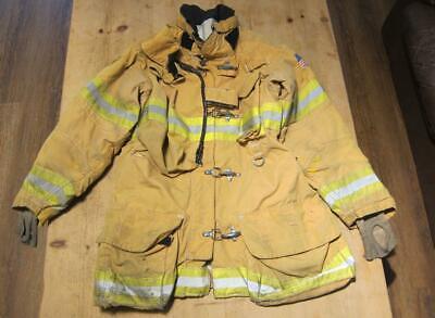 Lion Janesville Firefighter Fireman Turnout Gear Jacket Size 44.35.r - B Pp1