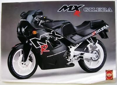 GILERA MXR Original Motorcycle Sales Sheet
