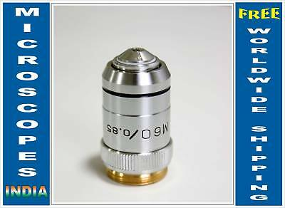 M 60x Metallurgical Metallograph Reflected Light Microscope Objective