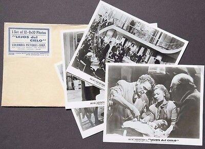 Vtg 1950 Lejos Del Cielo Movie Press Kit Photos (Aida Luz / Juan Jose Miguez)