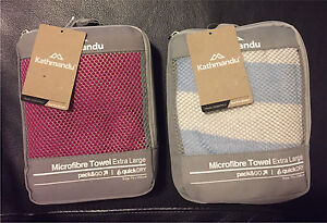 Kathmandu Microfibre towel extra large x2 - Brand new Manly Vale Manly Area Preview