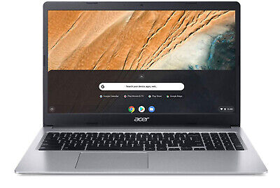 "Acer Chromebook 315 15.6"" Full HD IPS Touchscreen N4000 4GB/32GB eMMC Laptop"