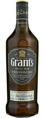 Grant's Triple Wood 'Smoky' 700mL Bottle