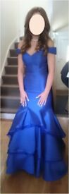 Stunning Jovani royal blue prom dress