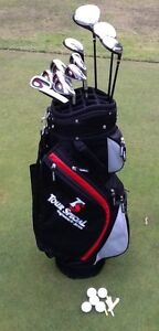 Golf Clubs RH men's Srixon Tour Special Full set + bag & Putter Alphington Darebin Area Preview