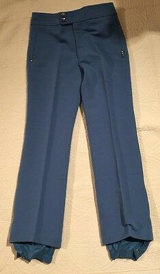 12f7a04e3ae039 Vintage HEAD Ski Pants Blue STRETCH Sz 34 Reg (New With Tags)