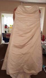 Cream wedding dress 22