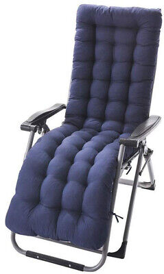 NEW Patio Chaise Lounger Indoor Outdoor Rocking Chair Cushio