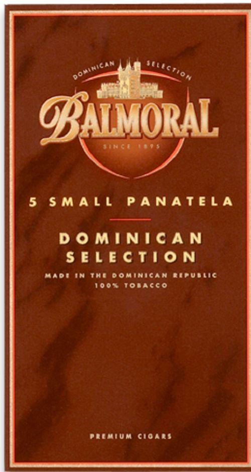 5 small Panatela Zigarren Balmoral Domonican Selection 100% Tabak