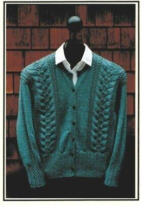 Knitting Pattern by Mari Lace Rib Cardigan Lace Cardigan Knit Pattern