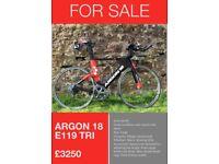 Argon 18 E119 Tri bike