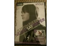 Justin Bieber collectors edition video CD