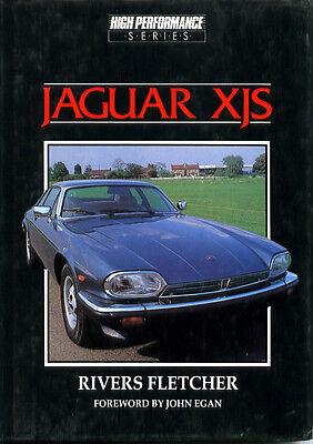 Jaguar Xjs Performance (JAGUAR XJS, FLETCHER, HAYNES HIGH PERFORMANCE SERIES, NEW 1983 BOOK ON SALE )
