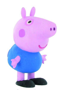 Peppa Pig figurine cochon George Pig 5 cm bleu Comansi Y99683