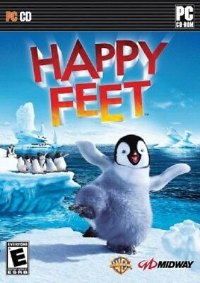 Happy Feet (PC, 2006) 3 Disc w/manual
