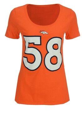 - Women's Von Miller Denver Broncos Player Pride T- Shirt Size Medium A0518