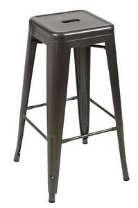METAL DINING CHAIR BAR STOOL