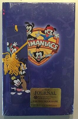 Animaniacs Journal with Bookmark