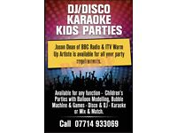 Dj/Disco/Karaoke/Presenter/Kids Parties