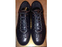 Gucci black leather Gloss trainers Size 6