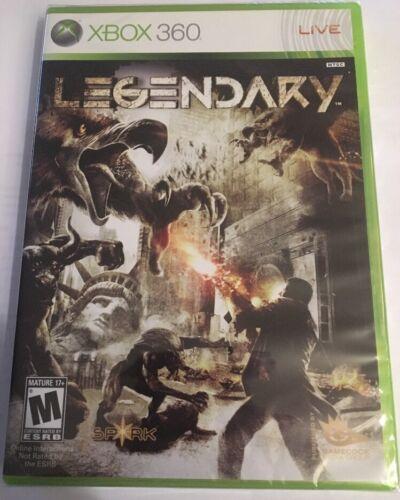 Legendary Microsoft Xbox 360, 2008 New Sealed - $12.99