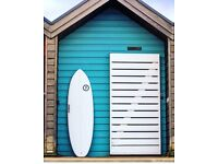 Surf board new ideal for summer waves