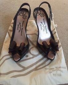 Vivienne Westwood Melissa Lady Dragon Shoes Size 6 UK