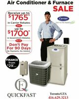 Heating, Air Conditioning & plumbing service- 3 hr response time