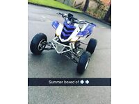 Yamaha Raptor R1 engine Road legal Quad Perfect summer toy!