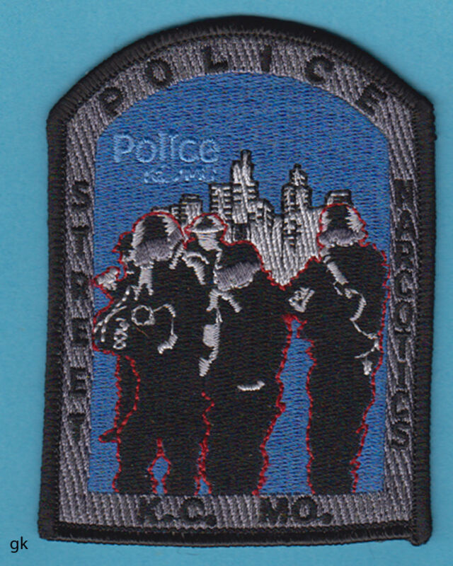 KANSAS CITY MISSOURI POLICE STREET NARCOTICS DRUG UNIT POLICE SHOULDER PATCH