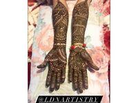 Professional henna artist/beauty therapist London based