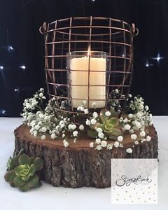 Rustic centrepiece hire - vintage wedding engagement party Caves Beach Lake Macquarie Area Preview