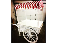 Deluxe candy cart, Prosecco cart, Bar Stall for hire