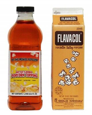 Flavacol Gourmet Movie Theater Popcorn Salt Seasoning Buttery Flavor Topping