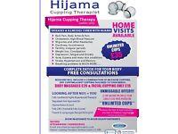 Hijama cupping Hijaama therapist female only hijama tower hamlets East London qualified hijama