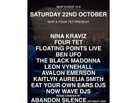 Warehouse project Nina Kraviz 22/10/16 x2