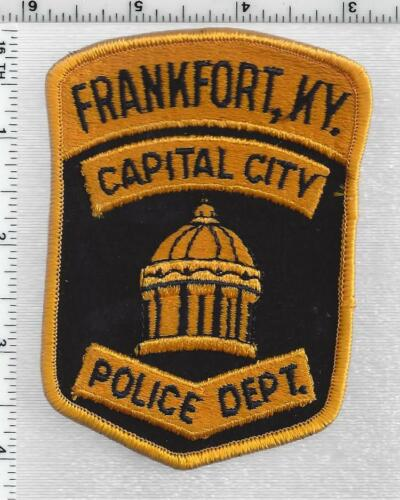 Frankfort Capital City Police (Kentucky) 3rd Issue Shoulder Patch