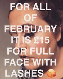 Makeup artist FEBRUARY OFFER