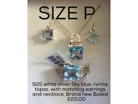 Brand new jewellery Set size P