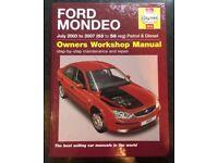 Ford Mondeo Haynes Manual
