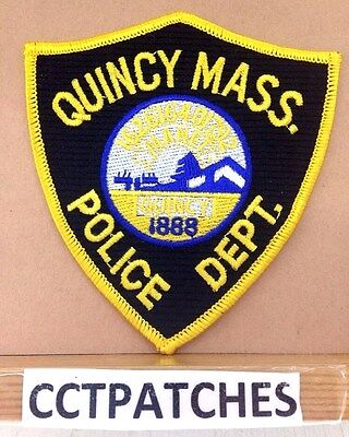 QUINCY, MASSACHUSETTS POLICE SHOULDER PATCH MA