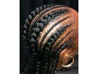 Natural Afro Caribbean mobile hairdressing services Manchester