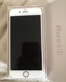 iPhone 6s 64gb rose gold immaculate unlocked