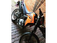 Yamaha xt125x 2007