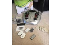 Foot Circulation Booster tens machine VGC diabetic friendly