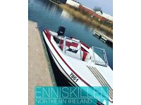 Glastron Spirit Speed Boat 90hp OutBoard