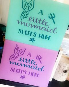 Little Mermaid bedroom sign